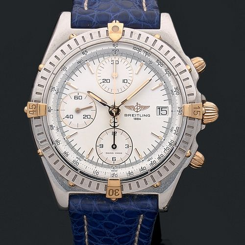 BREITLING Chronomat. Vers 2000. Ref B13050 1.16347  Modèle homme chronographe au…