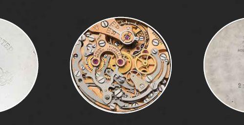 OMEGA Speedmaster. Ref 2998/6 Vers 1961. N°18945586 Chronographe en acier 3 comp…