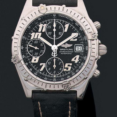 BREITLING Ref 001.13173. Vers 2011  BREITLING Chronomat. Modèle homme chronograp…