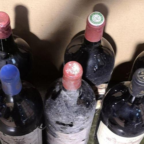 13 magnums  VARIOUS BURGUNDIES FOR SALE AS IS   Including Château du MONT Bordea…