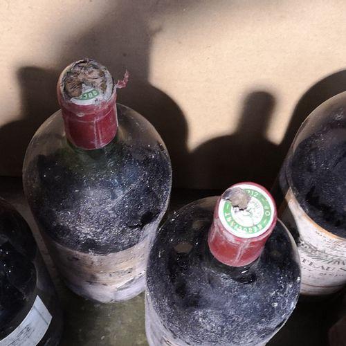 6 magnums  VARIOUS BURGUNDIES FOR SALE AS IS   2 magnums of Ch. SEGUR Haut Médoc…