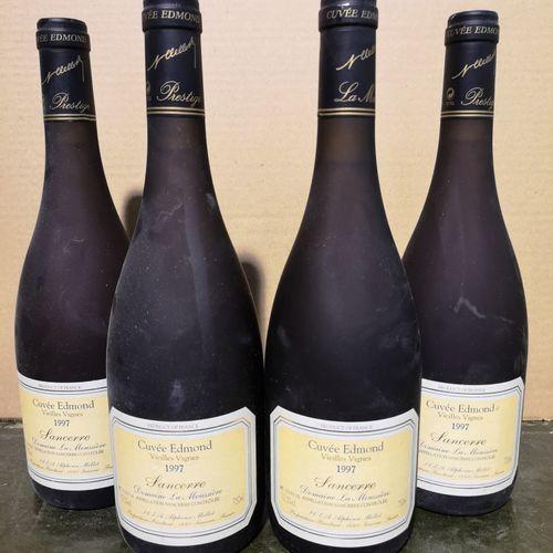 """4 bottles  SANCERRE Domaine de la Moussière """"Cuvée Edmond Vieilles Vignes"""" A. ME…"""