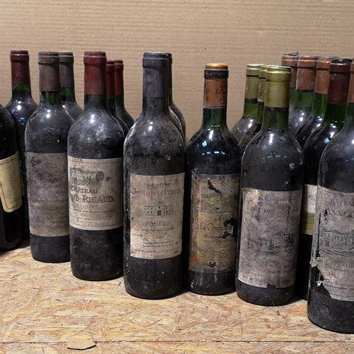 30 bottles  MISCELLANEOUS BORDEAUX FOR SALE AS IS Including Ch. La Tour Pibran 1…