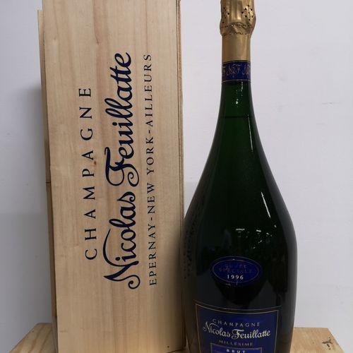 """1 magnum  CHAMPAGNE NICOLAS FEUILLATE """"Cuvée spéciale"""" 1996 In a box."""