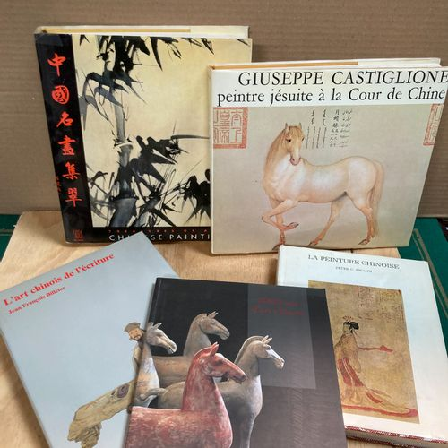 Lot of five books on the arts of China