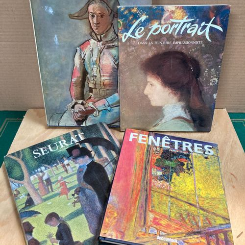 Set of four books on modern painting