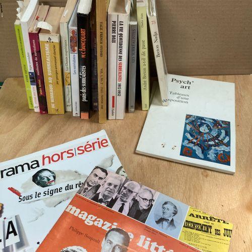 Surrealism  Lot of modern volumes, including André Breton...