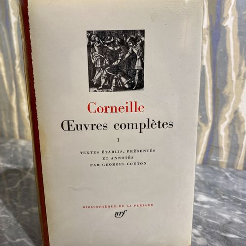 PléiMobiliere. Pierre CORNEILLE  Complete works  3 volumes under NRF cover