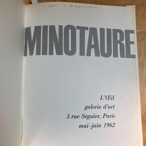 Minotaur  L'Œil, art gallery rue Séguier, Paris  May June 1962