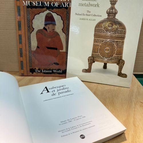 Lot of three books on Islamic arts