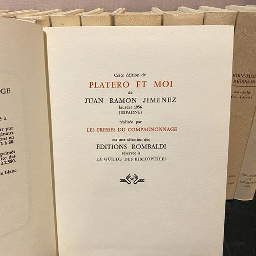 Lot of 22 books from Rombaldi Editions illustrated by PICASSO ? including Plater…