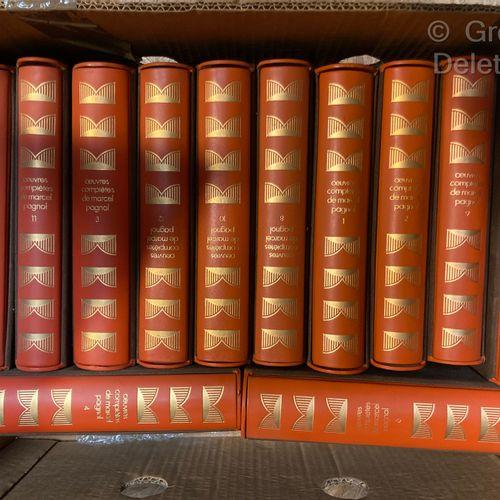 Marcel PAGNOL  Complete works  12 volumes, Editions du club de l'honnête homme