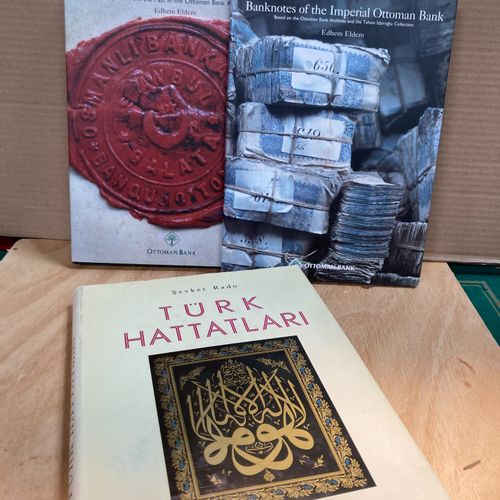 Lot of three books on Islamic arts