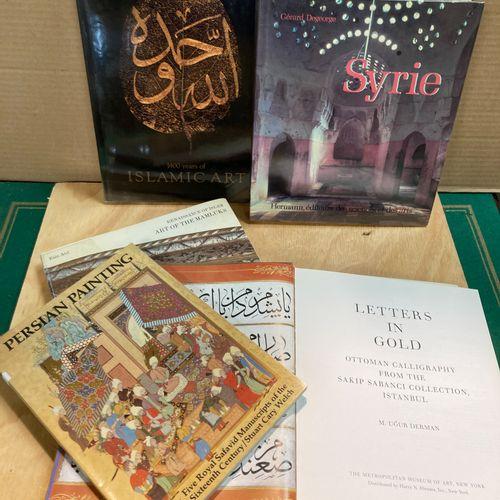 Lot of five books on Islamic arts