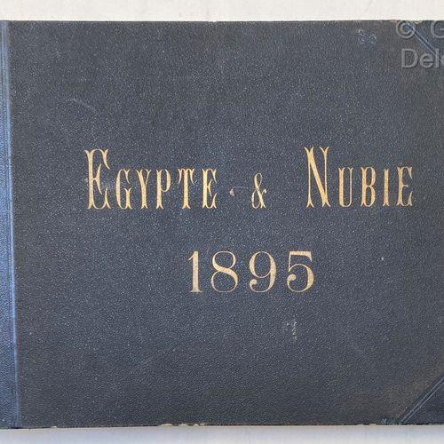 ABDULLAH Frères et BEATO Felice Antonio Egypte et Nubie. 1895  in 4 oblong relié…