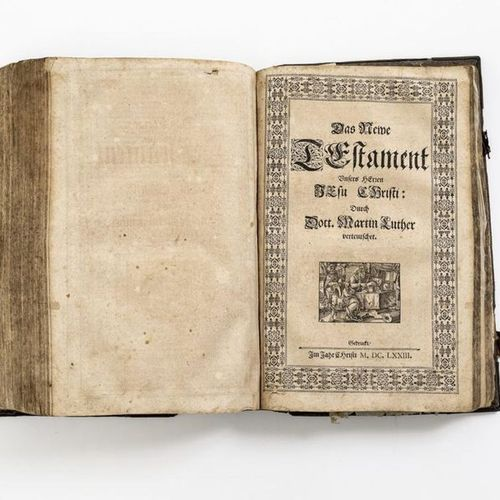 Biblia Germanica The whole H. Scripture Old and New Testaments Verteutschet By D…