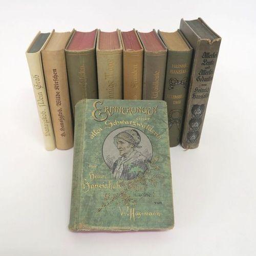 Heinrich Hansjakob Volume of nine volumes: Memories of an old Black Forest woman…