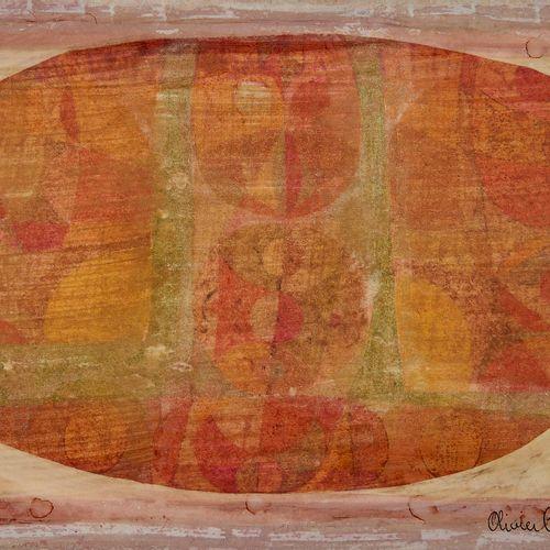 Olivier Charles (1931 2013)  NY, gouache sur papier, signée, située et datée 196…