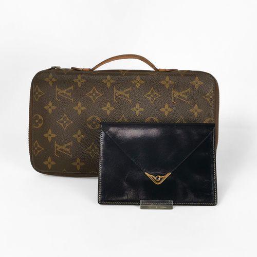 Louis Vuitton, Zippy XL, grand porte feuille  Toile enduite monogrammée, fermetu…