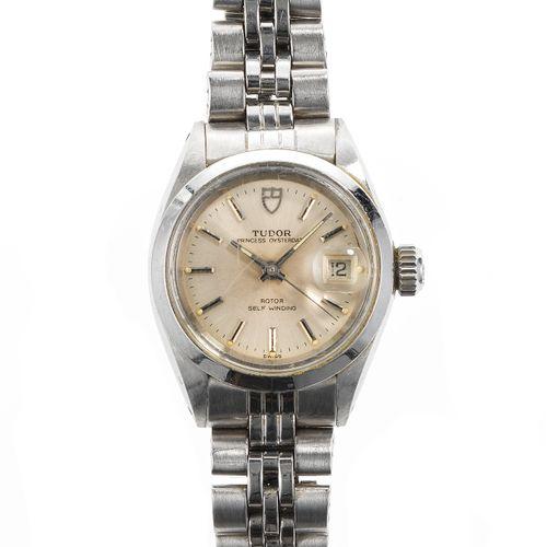 Tudor, Princess Oysterdate, montre bracelet ronde automatique  Cadran et aiguill…