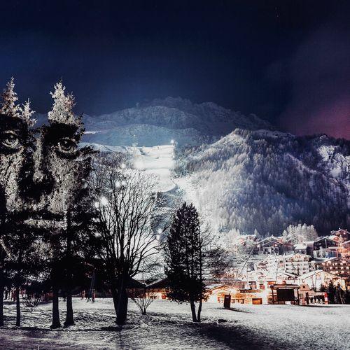 Philippe Echaroux (1983)  Beauty, Val d'Isère, France, 2015, tirage photographiq…