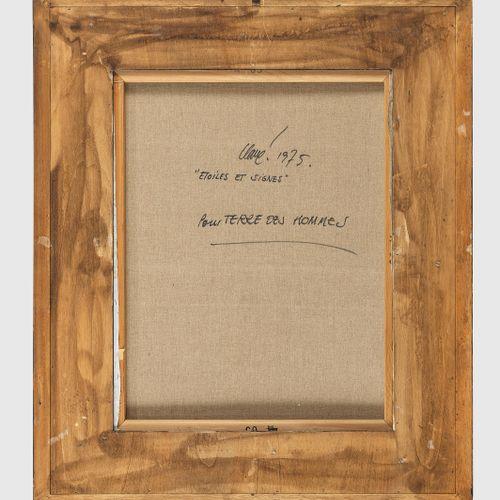 Antoni Clave (1912 2005)  Technique mixte et collage sur papier marouflé sur toi…