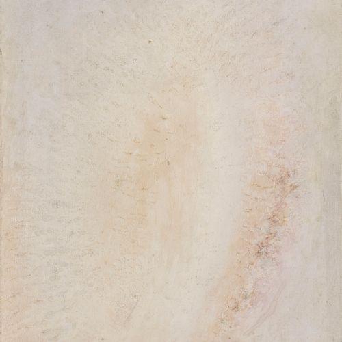 Kajetan Sosnowski (1913 1987)  Abstraction blanche, huile sur toile, signée et d…