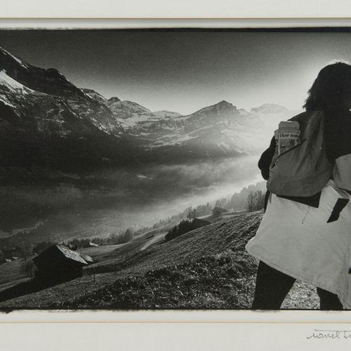 """Marcel Imsand (1929 2017)  """"17h Val d'Illiez, Valais"""", de la série """"Quotidiens a…"""