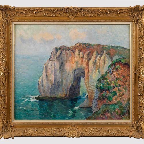 Robert Antoine Pinchon (1886 1943)  Falaises en Normandie, huile sur toile, 63x8…