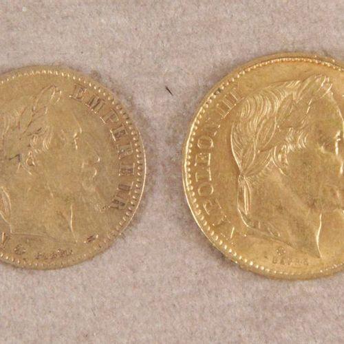 1 PIÈCE DE 20 F or à l'effigie de Napoléon III tête laurée. Strasbourg, 1870. 2 …