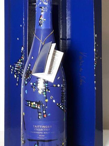 1 B TAITTINGER COLLECTION Roy Lichtenstein (coffret ls) Champagne 1985