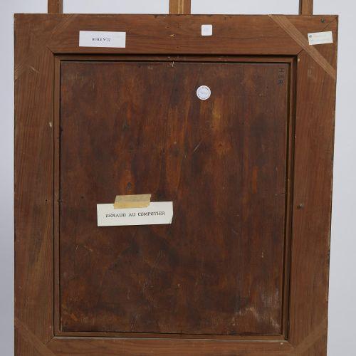 47 Lucien FONTANAROSA (1912 1975)  Renaud au compotier  Huile sur panneau  Signé…