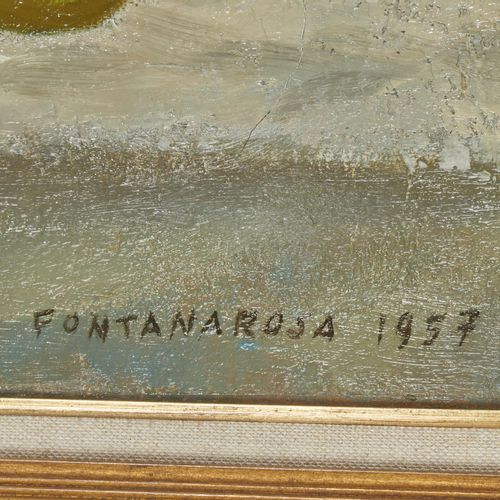 5 Lucien FONTANAROSA (1912 1975)  L'enfant aux pommes, 1957  Huile sur toile  Si…