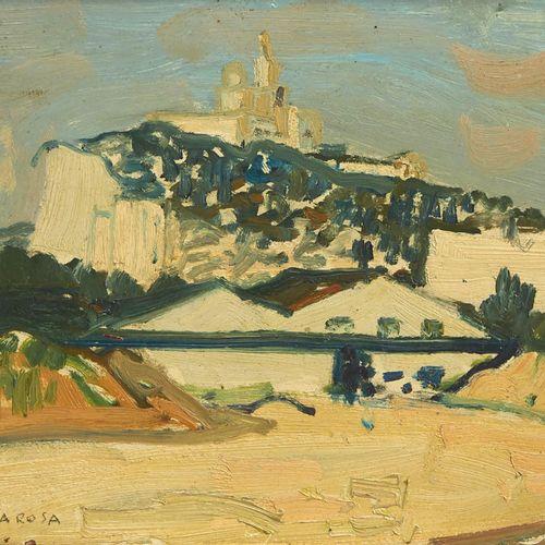 24 Lucien FONTANAROSA (1912 1975)  Notre Dame De La Garde, Marseille, circa 1930…