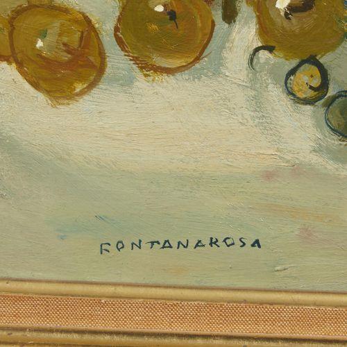 20 Lucien FONTANAROSA (1912 1975)  Nature morte aux poires et aux raisins, 1970 …