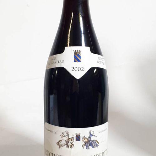1 B RUCHOTTES CHAMBERTIN GRAND CRU (efs) Cht de Marsannay 2002