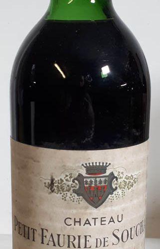 1 B CHÂTEAU PETIT FAURIE DE SOUCHARD (H.E., ea, cls) St Emilion GCC 1967