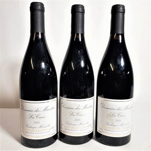 "3 B DOM. DES MURETTES, ""Les Cimes"" V. JL Bellido (etls) Minervois Livinière 2000"