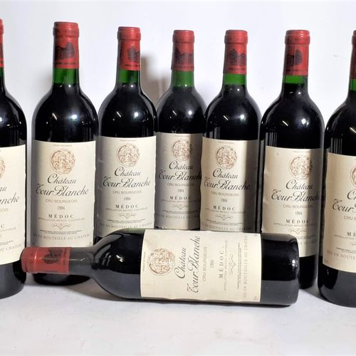 12 B CHÂTEAU TOUR BLANCHE rouge (cls) Médoc 1994