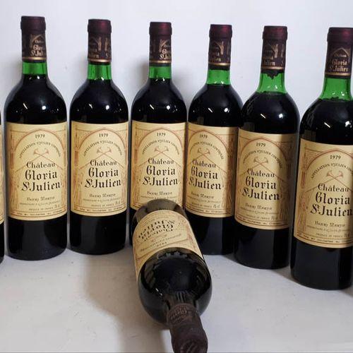 12 B CHÂTEAU GLORIA CBO (2bons N. B.G, 3T.L.B, 3H.E à 3cm, 1ela, cls) St Julien …