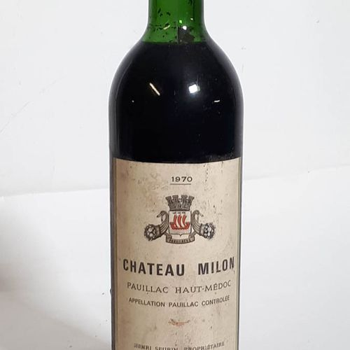 1 B CHÂTEAU MILON, H.Serin (T.L.B, efs, cs) Pauillac 1970