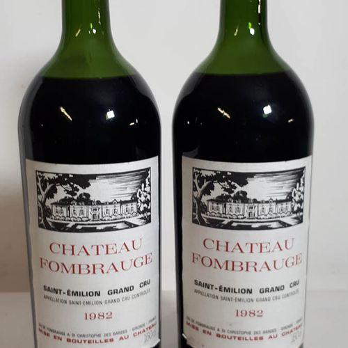 2 Mag CHÂTEAU FOMBRAUGE (M.E, etla, ca, cc) St Emilion GC 1982