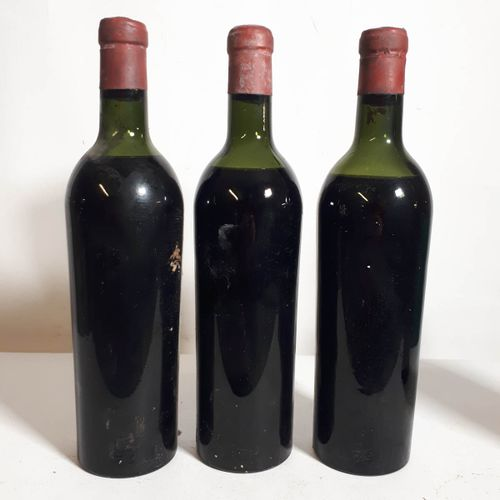 3 B CHÂTEAU XXX , F. Bouliere, propriét. Négoc. Bordeaux (1M.E, 2B.E S.E, c.S, c…