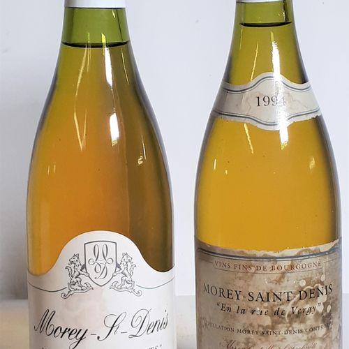 2 B 1Bt MOREY St DENIS Blc Les Mts Luisants, 1994 M.Magnin ( efs) + 1Bt MOREY St…