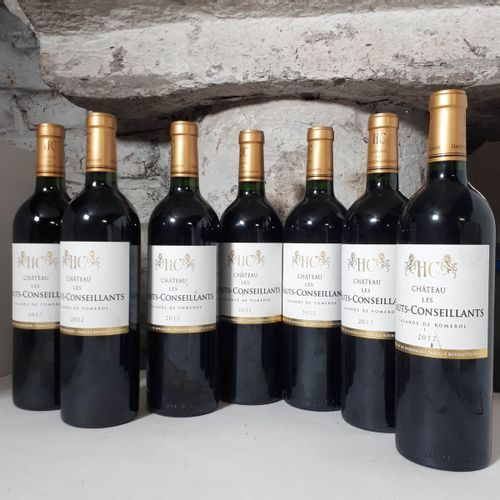7 B CHÂTEAU LES Hts CONSEILLANTS (els) Lalande de Pomerol 2012