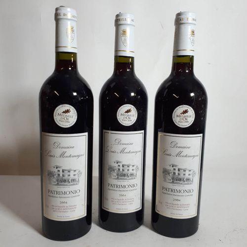 3 B DOM. L.MONTEMAGNI rouge , Nieluccio/Gren. (etls) Patrimonio 2004
