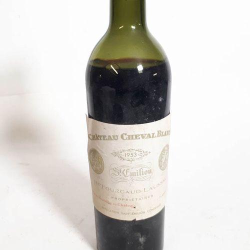 1 B CHÂTEAU CHEVAL BLANC (Basse.E, efs, cc voir photo) St Emilion 1eGCC 1953