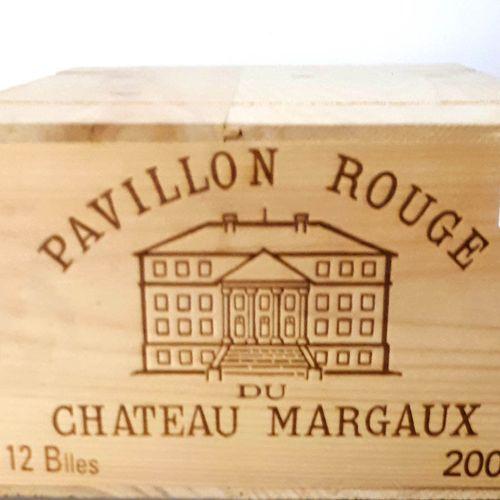 12 B PAVILLON ROUGE de Cht Margaux, CBO (N.I) Margaux 2003