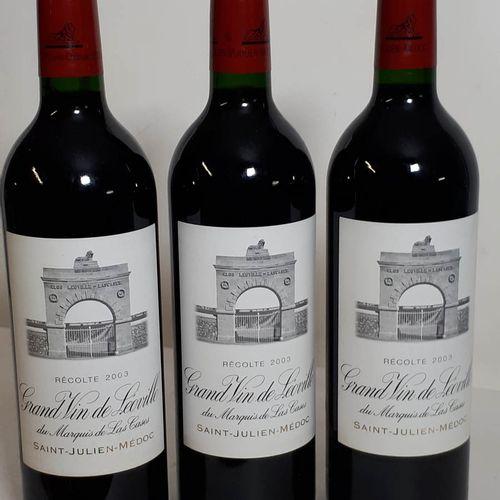 3 B CHÂTEAU LEOVILLE LAS CASES (*) St Julien GCC 2003