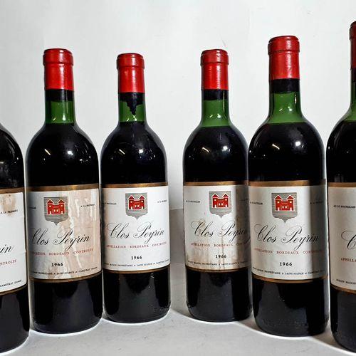 6 B CLOS PEYRIN ( 3B.G, 2T.L.B, 1H,E, es, très belles ) Romain Maison Bordeaux 1…